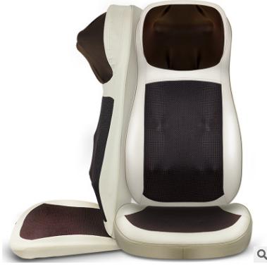 厂家直销思育负离子净化空气按摩椅垫 家用多功能全身颈椎按摩器