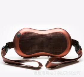 颈椎按摩器颈部腰部多功能全身电动花生按摩靠垫车载家用按摩枕