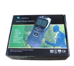 中英文多功能穴位数码经络理疗仪低频脉冲按摩器针灸按摩仪