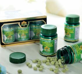 巴西产地货源 Wax Green 绿蜂胶片N81 保健食品