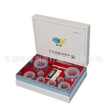 美容 电疗 脉冲 高透明 硅胶 针灸 拔罐 多功能理疗仪