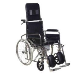手动全躺轮椅 折叠带坐便器高靠背老年人残疾人轮椅