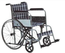钢制手动轮椅 老年人瘫痪坐便椅 双翻半躺家用医用轮椅 手动轮椅