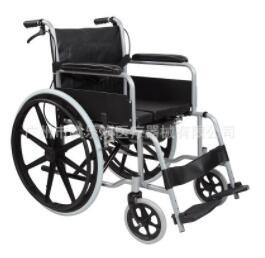 残疾人代步手动轮椅 老年人座便轮椅 手动带便盆座便轮椅