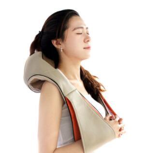 揉捏按摩披肩 颈椎按摩器颈部多功能车载家用电动肩