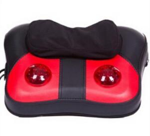 蝴蝶颈椎按摩枕 揉捏腰部按摩靠垫靠背按摩垫
