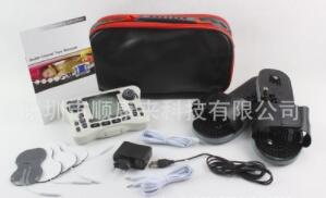 英文308B双输出电子脉冲按摩器 治疗仪 理疗仪