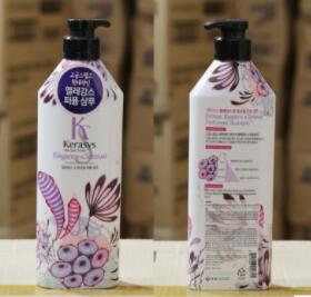 韩国进口正品爱敬 KS/Kerasys 绿粉紫色香水洗发水