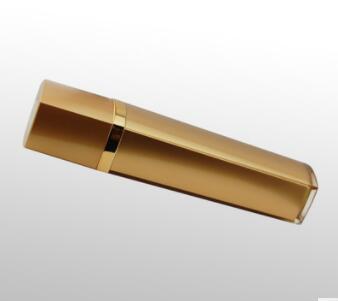 青春定格院装可拍方形亚克力喷雾瓶金色120ml方形化妆品瓶子