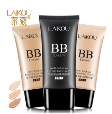 莱蔻BB霜保湿裸妆隔离遮瑕粉底液不脱妆化妆品
