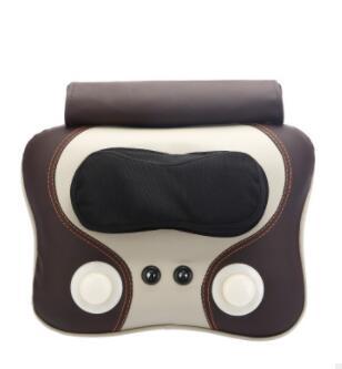 家用颈椎按摩器 电动全身多功能叩击揉捏按摩枕