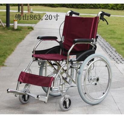 轮椅可折叠轻便老人手推车老年人残疾人便携轮椅车代步车折叠轮椅