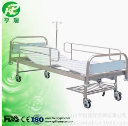 厂家直销简易手动二功能护理床双摇床瘫痪病人护理床医院专用病床