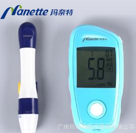 玛奈特全自动血糖测试仪 家用医用免调试血糖仪