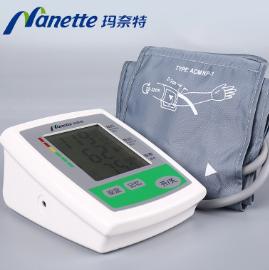 玛奈特智能语音电子血压计 上臂式家用全自动电子血压测量仪