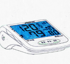 玛奈特家用电子血压计厂家