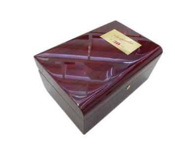 钢琴烤漆木盒 手表木盒 高端红酒烤漆盒 木质油漆礼品盒 珠宝木盒