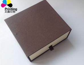 供应包装纸盒 皮带盒 腰带盒礼盒抽拉式礼品盒咖色钱包包装盒