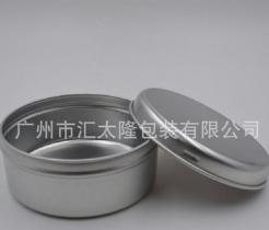厂家直销100g卡口圆形铝盒、金属包装盒、食品包装、药品盒