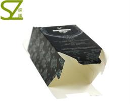 印刷厂 定做 高档盒套 药品纸盒 黑色纸套定制化妆品 外包装套
