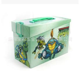 专业定制方型手挽铁盒 玩具手提盒 药品包装盒 礼品马口铁包装盒