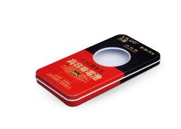 厂家定做 长方形马口铁手机电池铁盒 药品铁盒 马口铁盒