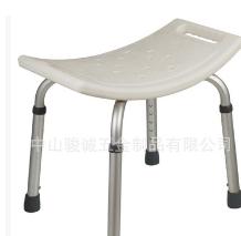 老年人残疾人孕妇铝合弧形无背金洗澡椅浴室防滑高度可调厂家直销
