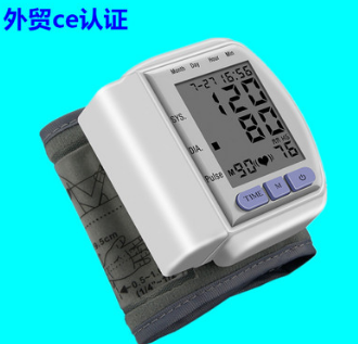 厂家直销 ck-102 外贸英文手腕式电子血压计家用 出口CE认证