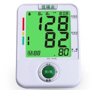 优瑞云电子血压计上臂式U80JH 家用上仪器全自动智能加压测量