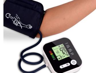 批发充电款手臂式全自动智能语音电子血压计血压测量仪家用