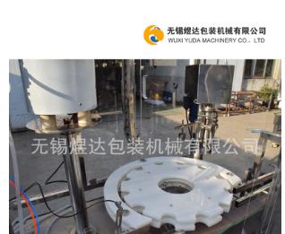 铝盖灌装扎盖机 油类灌装机械 全自动灌装扎盖机 蠕动泵灌装机