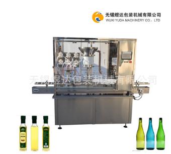 油类灌装机 全自动玻璃瓶灌装扎盖机