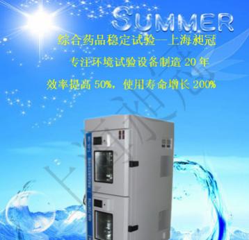 上海昶冠恒温恒湿试验箱 高低温试验箱 强光药品试验箱