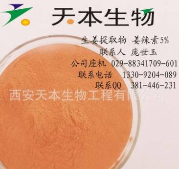 生姜提取物 姜辣素5%