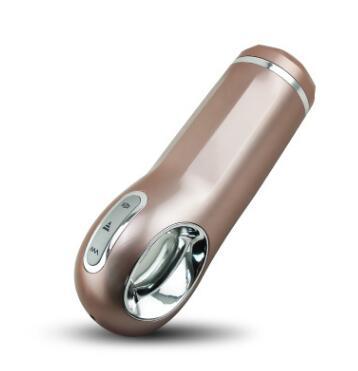 聚品飞机杯 NANO男用全自动伸缩抽插发音男性自慰器 成人用品