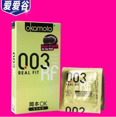 避孕套冈本003黄金版6只装超薄安全套