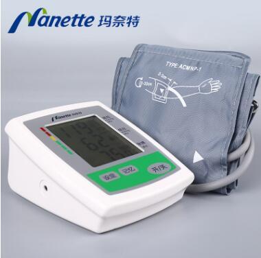 玛奈特智能语音电子血压计 上臂式家用全自动电子血压测量仪6D