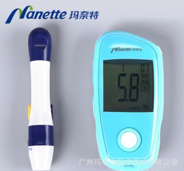 玛奈特全自动血糖测试仪 家用医用免调试血糖仪YD-558C血糖仪