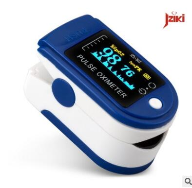 指夹式血氧仪 家用OLED屏血氧儀仪器