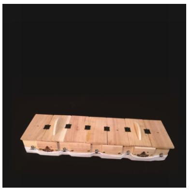 艾灸盒批发厂价直销 纯秋木质 督脉火龙灸长蛇灸