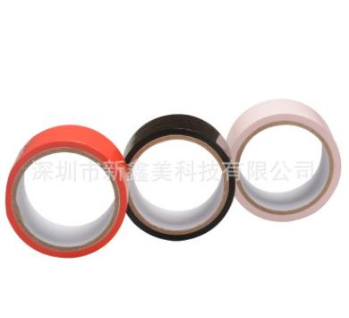 进口静电捆绑胶带 彩色无胶静电膜胶带 情趣成人性用品