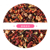 CT0504 蜜桃甜香 经典水果花茶 花果茶原料供应 批发OEM加工