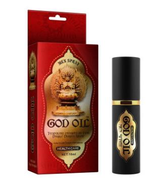 古圣堂GOD印度神油男外用喷剂 成人性保健品厂家批发微商代理