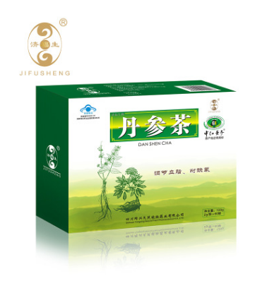 济福生中江丹参茶保健茶2g/袋x60袋 线上招商代理 控价保护